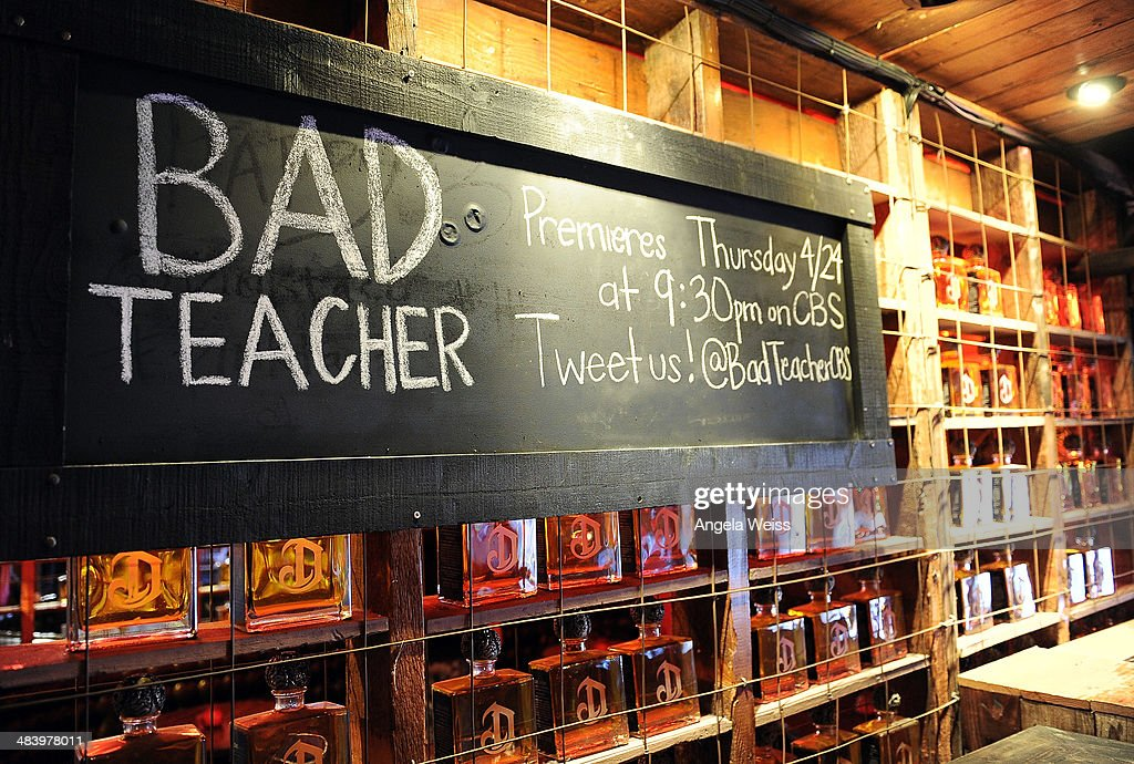 "CBS & Sony Premiere Event Kicking-off The New Comedy Series ""Bad Teacher"" : Fotografia de notícias"