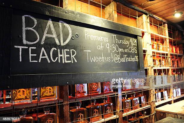 A general view of atmosphere at a CBS Sony premiere event to kick off the new comedy series 'Bad Teacher' at Pink Taco on April 10 2014 in Los...