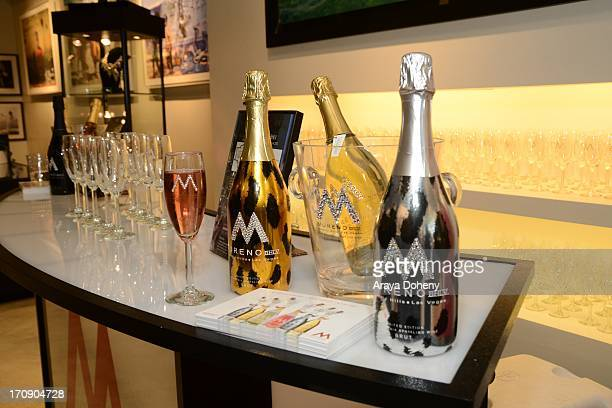 A general view of atmosphere at a gallery exhibit of Terry O'Neill Presents The Opus A 50 Year Retrospective at Mouche Gallery on June 19 2013 in...