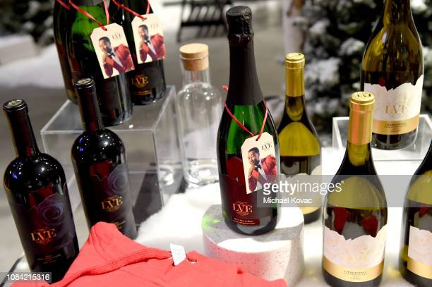 A general view of atmosphere at 'A Legendary Shopping Night' hosted by Fred Segal Sunset in the Ralph Lauren popup space at Fred Segal on December 17...