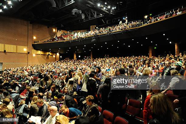 A general view of atmosphere at a screening of Amreeka during the 2009 Sundance Film Festival at Eccles Theatre on January 17 2009 in Park City Utah