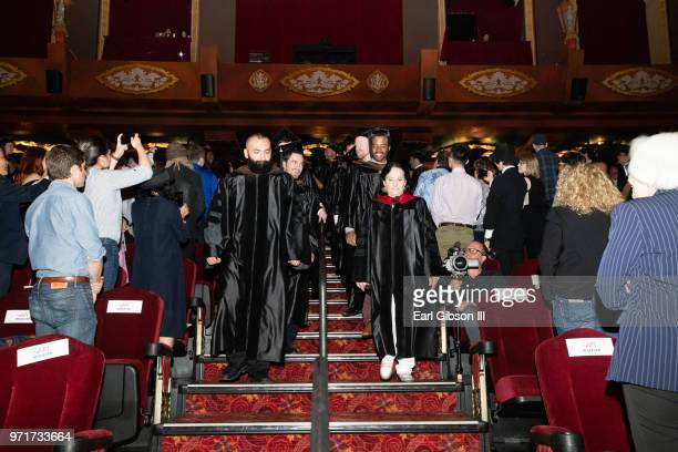 A general view of atmosphere at AFI's Conservatory Commencement Ceremony at TCL Chinese Theatre on June 11 2018 in Hollywood California