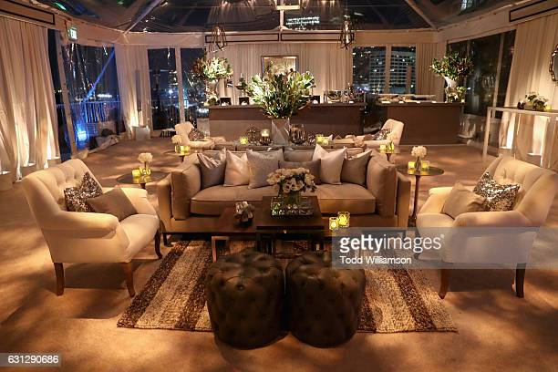 General view of atmosphere at Amazon Studios Golden Globes Celebration at The Beverly Hilton Hotel on January 8 2017 in Beverly Hills California