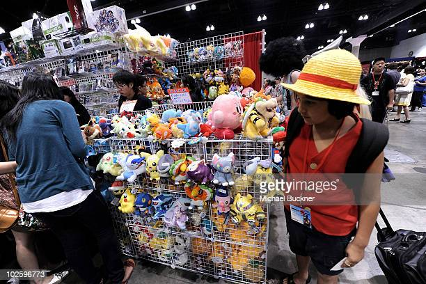 A general view of atmosphere at Anime Expo 2010 at the Los Angeles Convention Center on July 2 2010 in Los Angeles California