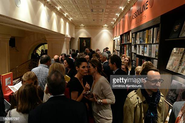 A general view of atmosphere at ASSOULINE Martine and Prosper Assouline host a book signing for Ketty PucciSisti Maisonrouge's The Luxury Alchemist...