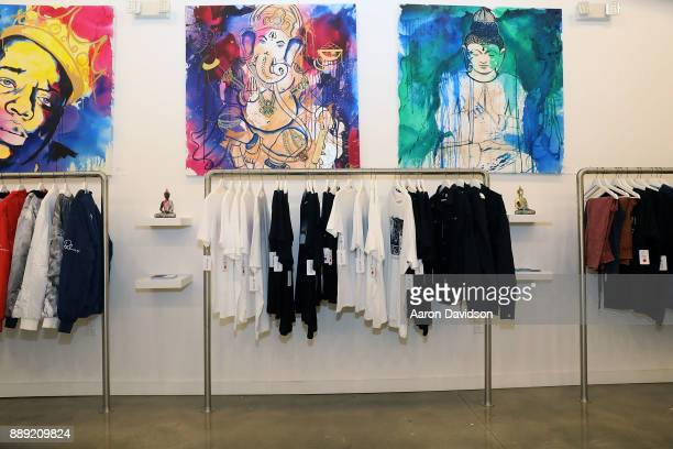 A general view of atmosphere at Brittney Palmer's 'No Agency' Art Show Shop At Art Basel Miami 2017 on December 9 2017 in Miami Florida