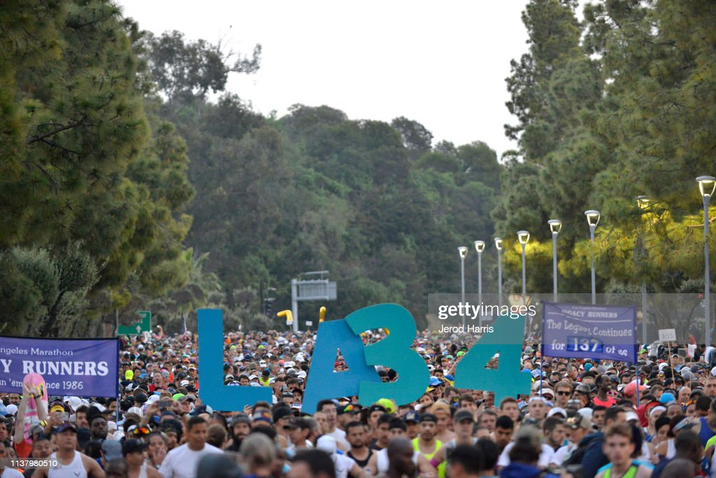 CA: LA Celebrates The 34th Running Of The Skechers Los Angeles Marathon With Local Baseball Stars Justin Turner And Albert Pujols