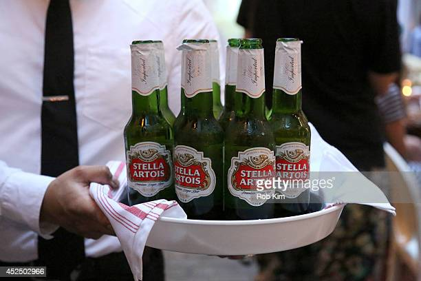 General view of atmosphere at Chrissy Teigen And Stella Artois host Belgian National Day Celebration to kick off the launch of The Butcher, The...