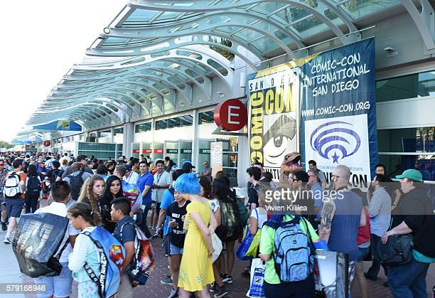 A general view of atmosphere at ComicCon International 2016 on July 20 2016 in San Diego California