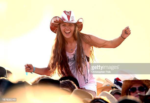 General view of atmosphere at day 1 of the 2013 Stagecoach California's Country Music Festival at The Empire Polo Field on April 26, 2013 in Indio,...