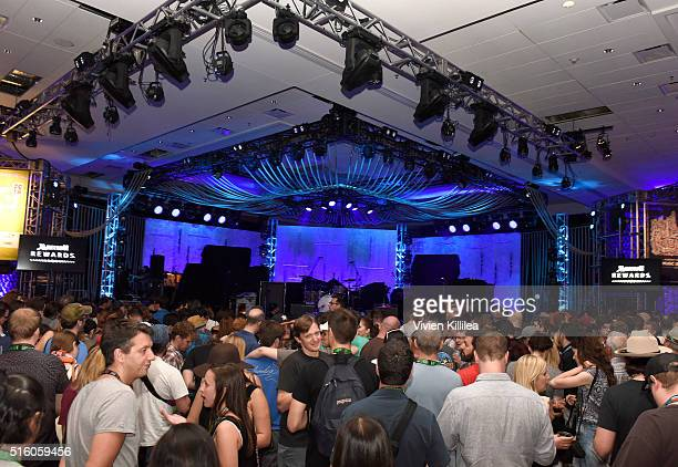 A general view of atmosphere at day 2 of Marriott Rewards presents Music is Universal with UMG during SXSW at JW Marriott on March 16 2016 in Austin...
