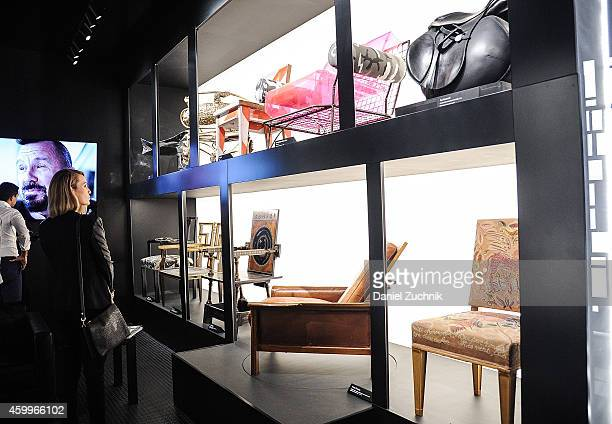 A general view of atmosphere at Design Miami Vernissage on December 4 2014 in Miami Beach Florida