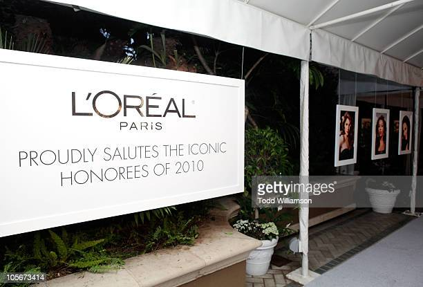 A general view of atmosphere at ELLE's 17th Annual Women In Hollywood Tribute at The Four Seasons Hotel on October 18 2010 in Beverly Hills California