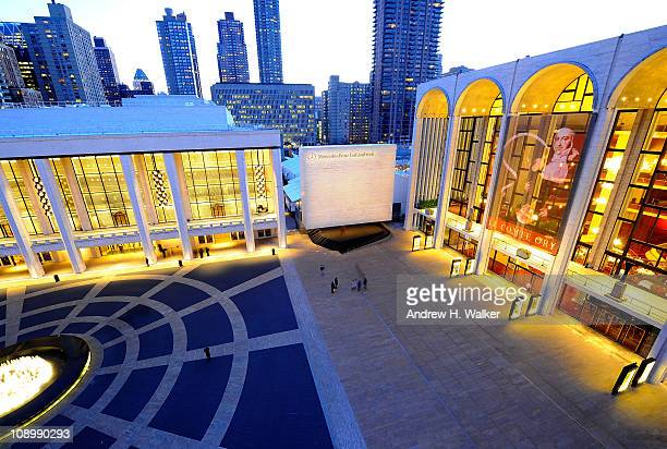 General view of atmosphere at Fall 2011 MercedesBenz Fashion Week at Lincoln Center on February 10 2011 in New York City