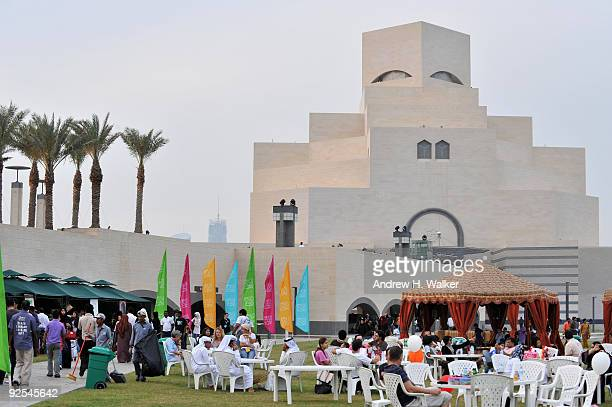 A general view of atmosphere at Family Day at the Museum of Islamic Art during the 2009 Doha Tribeca Film Festival on October 30 2009 in Doha Qatar