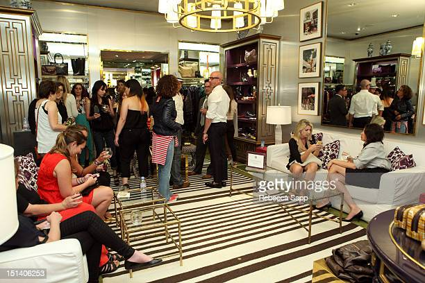 A general view of atmosphere at Fashion's Night Out At Tory Burch at Tory Burch on September 6 2012 in Los Angeles California