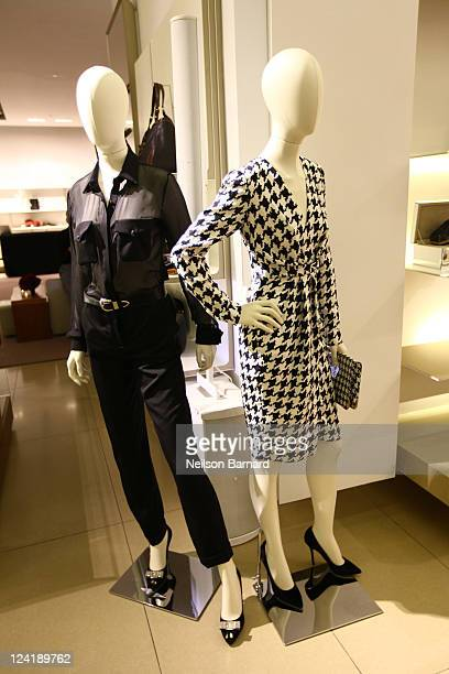 A general view of atmosphere at Ferragamo's Black And White Fete to celebrate Fashions Night Out at Salvatore Ferragamo on September 8 2011 in New...