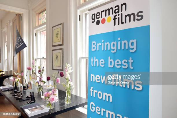A general view of atmosphere at German Films X Dr Hauschka Reception at the 43rd Toronto International Film Festival on September 9 2018 in Toronto...