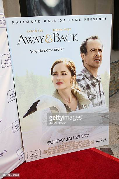General view of atmosphere at Hallmark Hall Of Fame's Away Back Exclusive Premiere Event at iPic Theaters on January 20 2015 in Los Angeles California