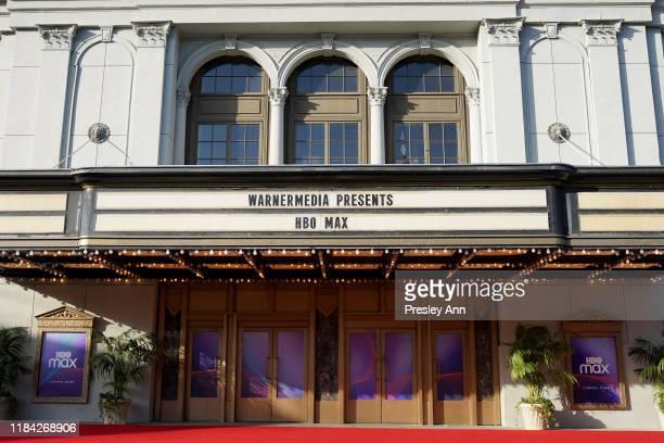 A general view of atmosphere at HBO Max WarnerMedia Investor Day Presentation at Warner Bros Studios on October 29 2019 in Burbank California