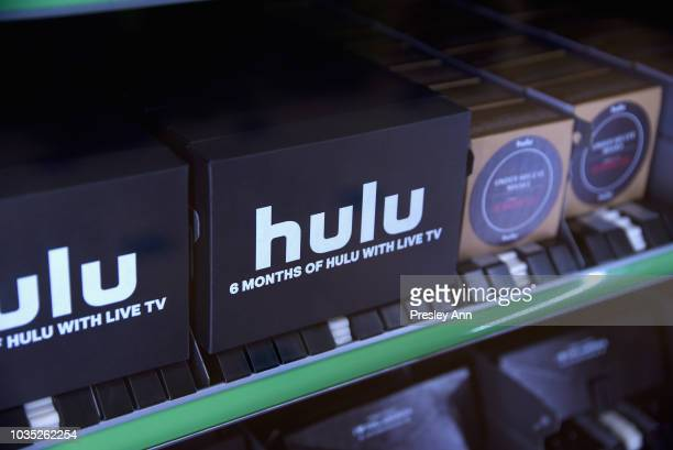 A general view of atmosphere at Hulu's 2018 Emmy Party at Nomad Hotel Los Angeles on September 17 2018 in Los Angeles California