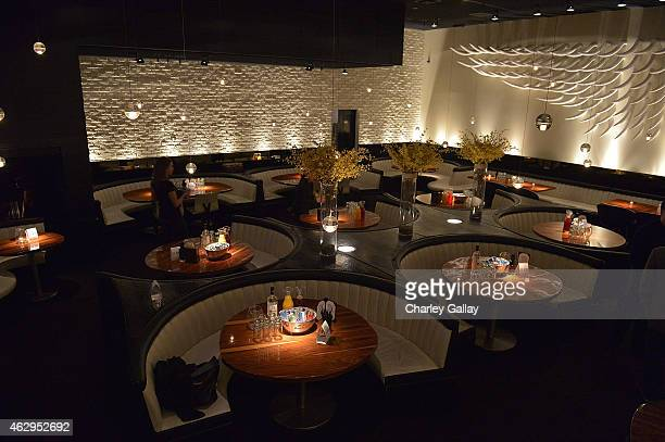 A general view of atmosphere at Island Records PreGrammy Party Hosted By President David Massey Presented By Jagermeister at STK on February 7 2015...