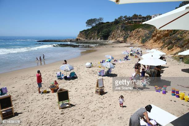 General view of atmosphere at Ju-Ju-Be's 2nd Annual Ju-Ju-Beach Event celebrating lthe launch of Baby Tula Collaboration on April 22, 2017 in Laguna...