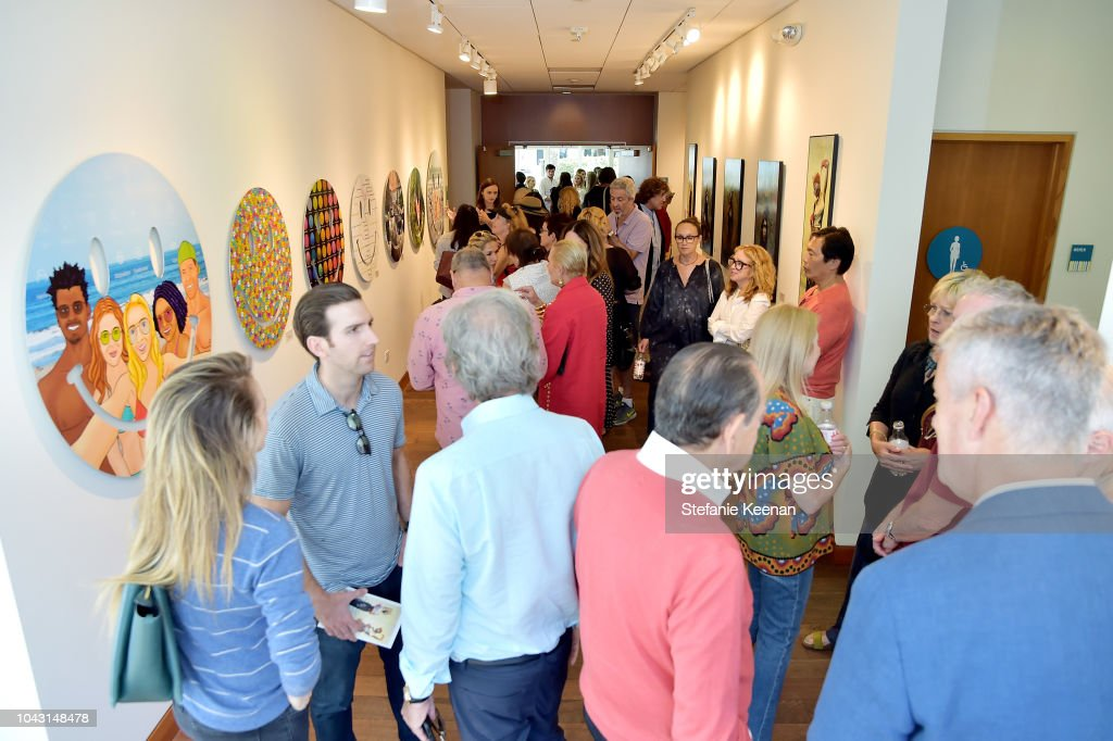 Life In This Ocean Opening at The Annenberg Community Beach House : News Photo