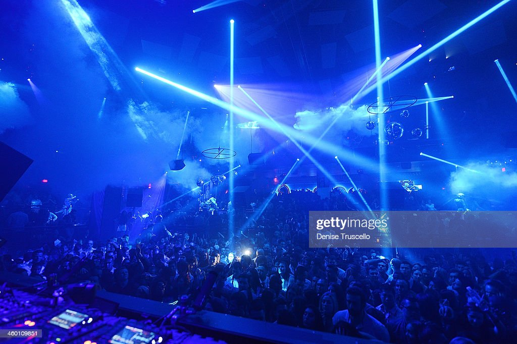 A General View Of Atmosphere At Light Nightclub At Mandalay Bay On January  1, 2014