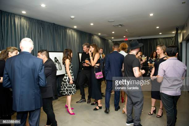 A general view of atmosphere at Living Beauty 'The Gift' Photo Exhibit at The Buterbaugh Gallery on October 19 2017 in Los Angeles California