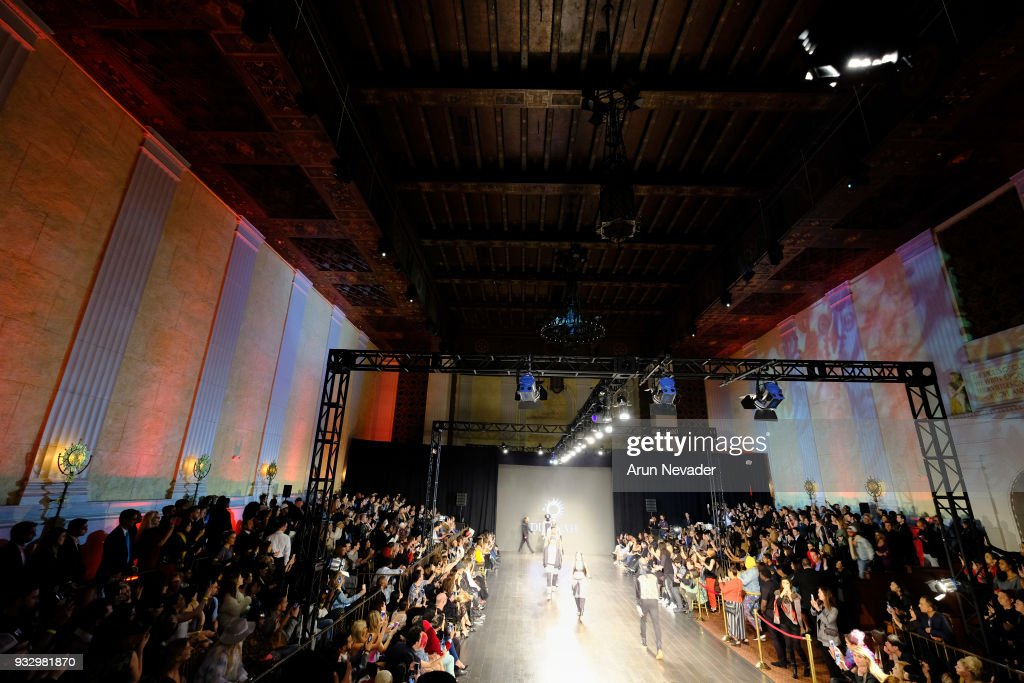 Los Angeles Fashion Week Powered by Art Hearts Fashion LAFW FW/18 10th Season Anniversary - Backstage and Front Row - Day 5