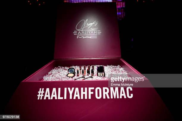 A general view of atmosphere at MAC Cosmetics Aaliyah Launch Party on June 14 2018 in Hollywood California