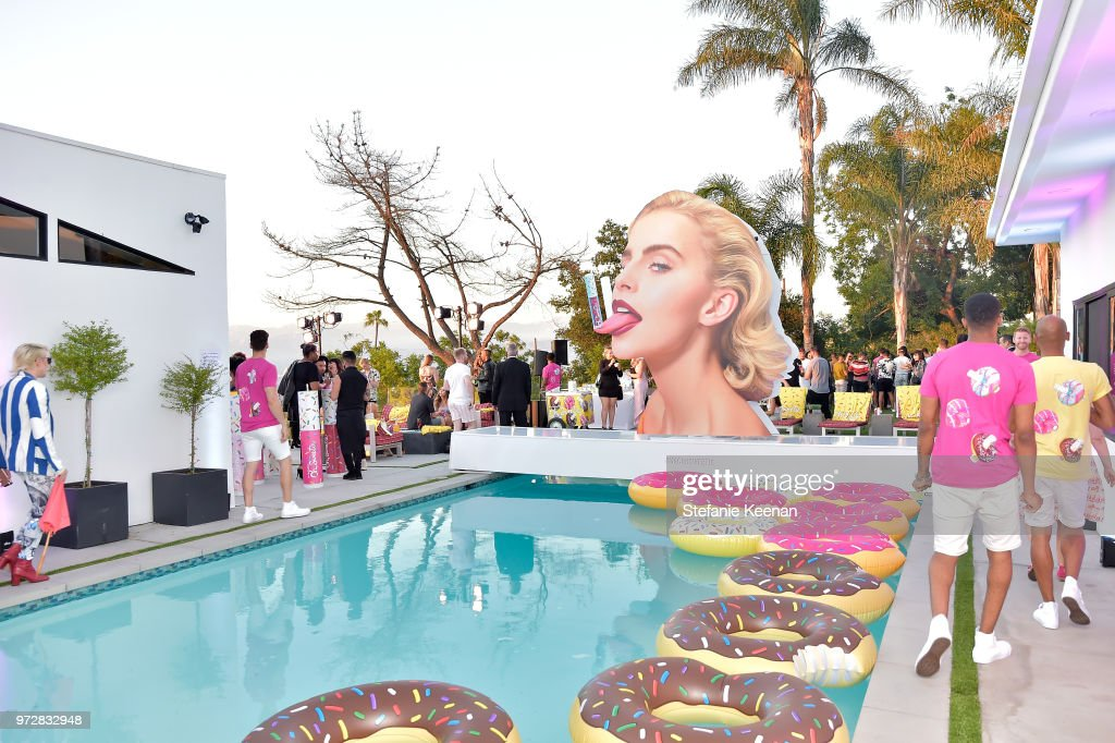 A general view of atmosphere at MAC Cosmetics Oh Sweetie Lipcolour Launch Party in Beverly Hills on June 12, 2018 in Beverly Hills, California.