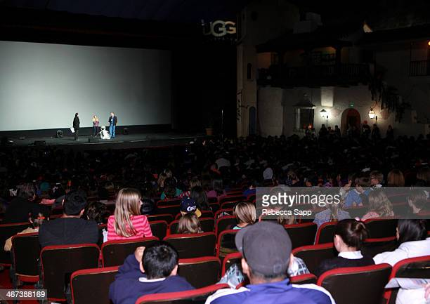 General view of atmosphere at Mike's Field Trip to the Movies screening of 'Frozen' at the 29th Santa Barbara International Film Festival on February...