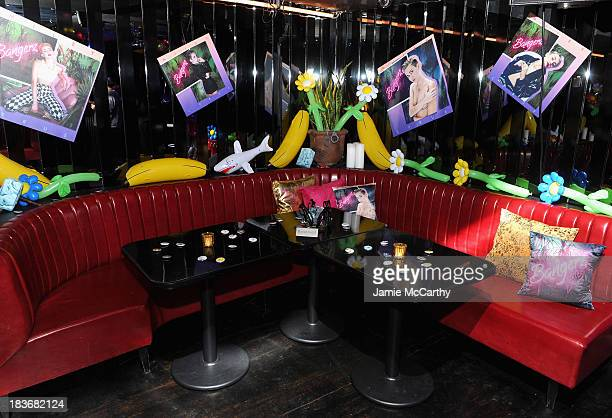 A general view of atmosphere at Miley Cyrus' Official Album Release Party for Bangerz at The General on October 8 2013 in New York City