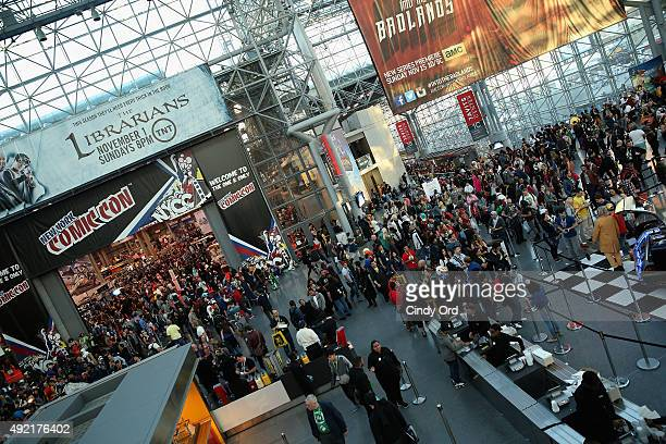 A general view of atmosphere at New York Comic Con 2015 on October 10 2015 in New York United States 25749_002 273JPG