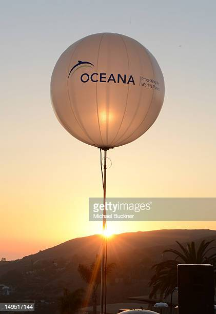 A general view of atmosphere at Oceana's SeaChange Summer Party at a private residence on July 29 2012 in Laguna Beach California