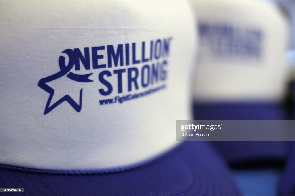 Fight Colorectal Cancer: One Million Strong Raising Awareness For Prevention : News Photo
