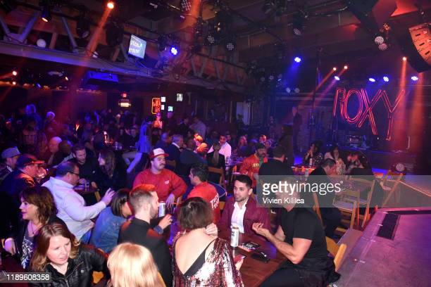 A general view of atmosphere at Preview Of Rock of Ages Hollywood At The Bourbon Room on December 18 2019 in Hollywood California