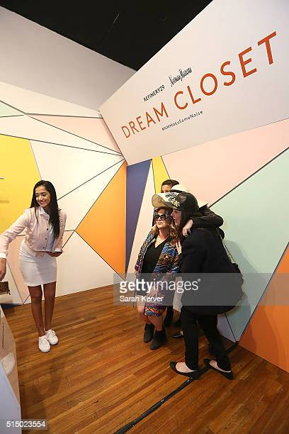 General view of atmosphere at Refinery29's School of Self Expression opening night party presented by Neiman Marcus during SXSW on March 11 2016 in...