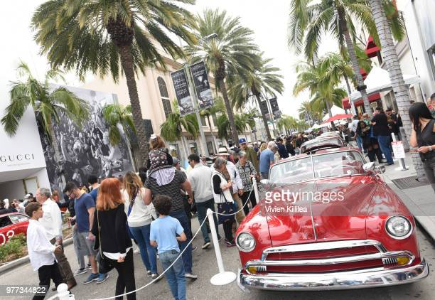Beverly Hills Car Show Stock Photos And Pictures Getty Images - Beverly hills car show