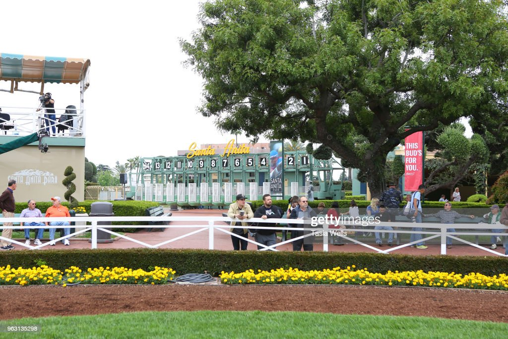 Santa Anita Gold Cup Race Day