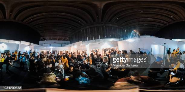 A general view of atmosphere at Sao Paulo Fashion Week N46 SPFW Winter 2019 at ARCA on October 26 2018 in Sao Paulo Sao Paulo