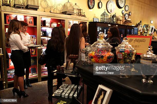 A general view of atmosphere at Sephora VIB Holiday Cocktail Party Hosted By Kat Von D at Kat Von D's Wonderland Gallery on December 13 2012 in Los...