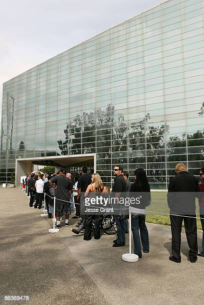 """General view of atmosphere at """"Simply Believe"""": A Celebration Of Charles """"Mask"""" Lewis Jr. Held at The Crystal Cathedral on April 14, 2008 in Garden..."""