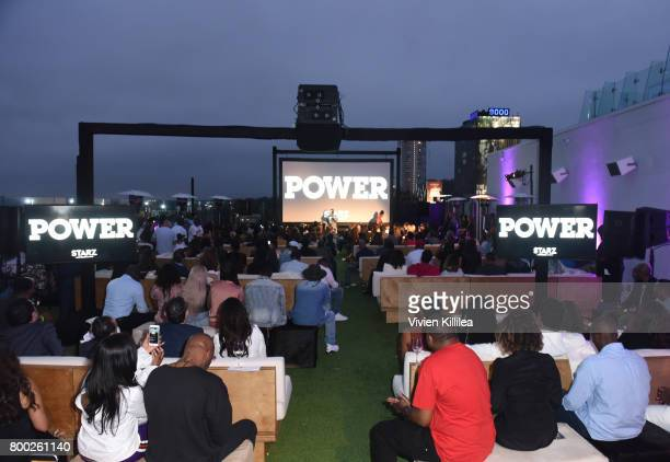 A general view of atmosphere at STARZ 'Power' Season 4 LA Screening And Party at The London West Hollywood on June 23 2017 in West Hollywood...