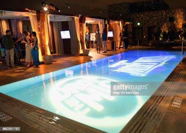 A general view of atmosphere at TBS' Drop the Mic and The Joker's Wild Premiere Party at Dream Hotel on October 11 2017 in Hollywood California Shoot...