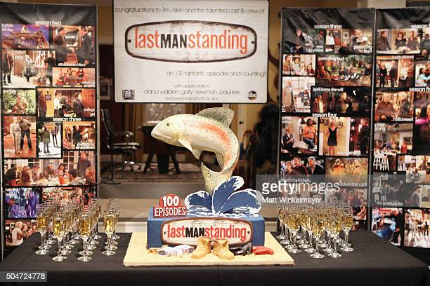 "General view of atmosphere at the 100th episode celebration of ABC's ""Last Man Standing"" at CBS Studios - Radford on January 12, 2016 in Studio City,..."
