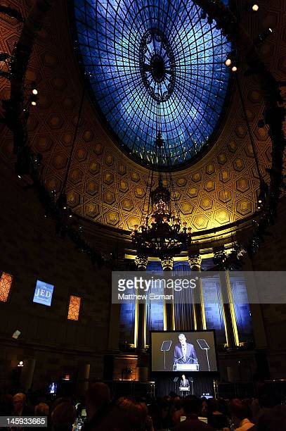 A general view of atmosphere at the 11th Annual Jed Foundation Gala at Gotham Hall on June 7 2012 in New York City