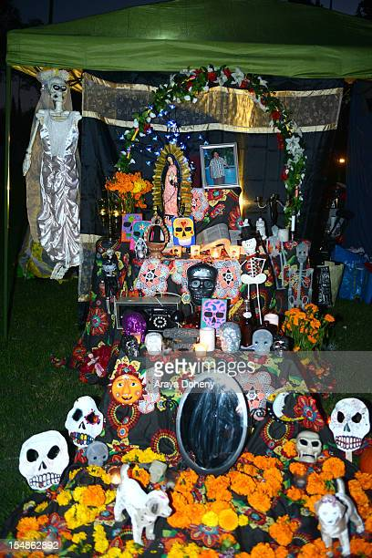 A general view of atmosphere at the 13th Annual Dia De Los Muertos Festival at Hollywood Forever on October 27 2012 in Hollywood California
